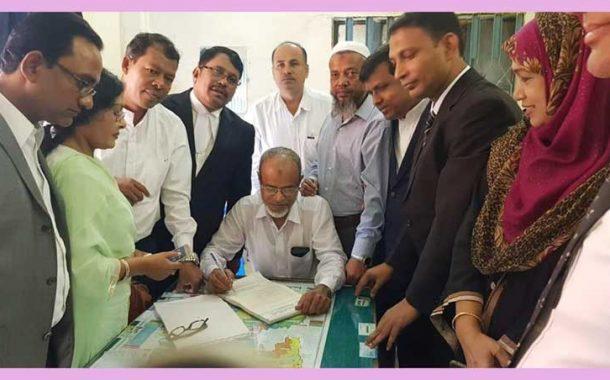চাঁদপুর জেলা জাতীয়তাবাদী আইনজীবী ফোরাম সদস্য ফরম বিতরন উদ্বোধন