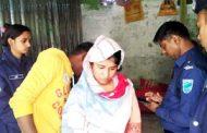 কিশোরগঞ্জে ঘরে গৃহবধূর ঝুলন্ত লাশ, স্বামী আটক