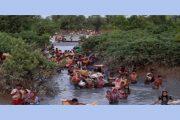 বাংলাদেশে ঢোকার জোর চেষ্টা চালাচ্ছে করোনা আক্রান্ত রোহিঙ্গারা