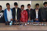 রাজধানীতে অভিনব কৌশলে বাস ডাকাতি,৭জন গ্রেপ্তার