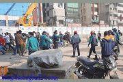 ঢাকায় বিএনপির সমাবেশ ঘিরে বিক্ষিপ্ত সংঘর্ষ পুলিশের সঙ্গে
